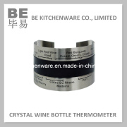 Instant Bottle Thermometer Crystal-Wine Thermometer (BE-10002)