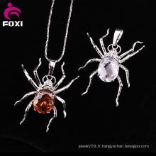 Type chaud des enfants Genre or araignée pendentif bijoux