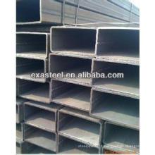 Frio Laminado tubo de aço retangular feito na China