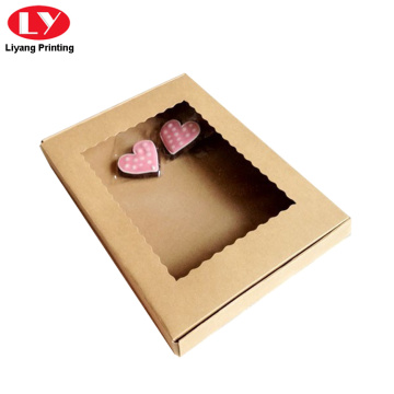 Kraft Paper Shipping Box Cookie Packaging