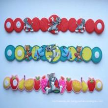 Großhandelspersonifiziertes reflektierendes PVC-Armband