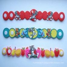 Bracelet réfléchissant en PVC personnalisé