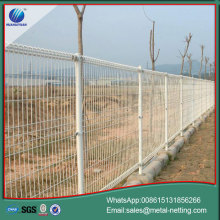 double loop fence garden roll top fence