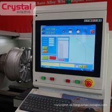 CER-Zertifikat-hohe Präzision AWR-Leichtmetallrad-Reparatur-CNC-Drehbank-Maschine