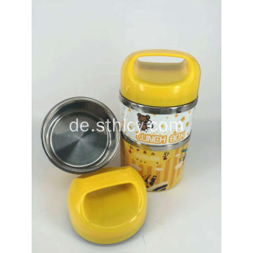 2-Tier Isolierte Edelstahl-Food-Container-Set