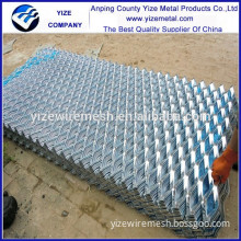 Alibaba sale expanded metal building materials/powder coating aluminum expanded metal mesh