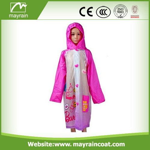 Kids Plastic Raincoat