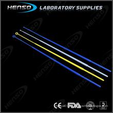 Bucle de inoculación de plástico para laboratorio médico HENSO