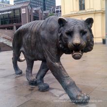 Garden decor bronze large cat statue for sale