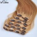 8A Brasilianische Remy Unverarbeitete Reine Haarspange Haarverlängerungen 200G Candy Curl Menschliche Weben Haar
