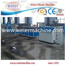 Chaîne de production de machine d'extrudeuse en plastique de profil de fenêtre et de porte de PVC