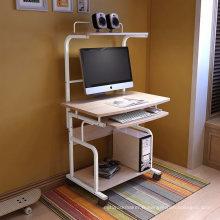 Bureau d'ordinateur en bois mobile de meubles à la maison pour l'étudiant