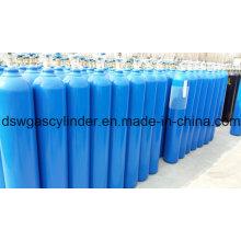 99.9% y 99.99% de gas N2o llenado en 40L de gas de cilindro con válvula Qf-2