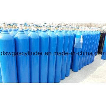 99,9% e 99,99% de gás N2o com enchimento de gás de cilindro 40L com válvula Qf-2