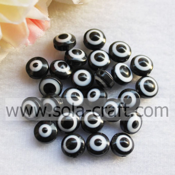 Bulk Buy From China Acrylic Nigeria Cat`s Eye Style Resin Beads Jewelry wholesale beads for sale Black