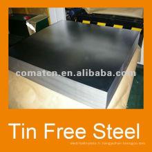 JISG 3003 TFS Tin Free Steel pour l'utilisation de l'EOE