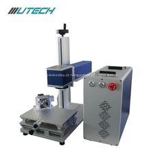 Máquina da marcação do laser da fibra 30w para o plástico do metal