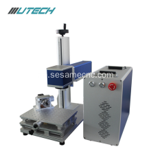 30w Fiber Laser Marking Machine för metallplast