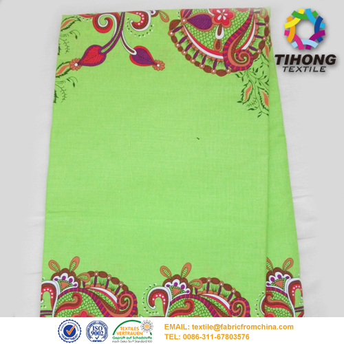 African Wax Printed Clothing Fabric