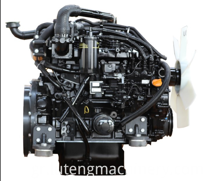Powerful engine,