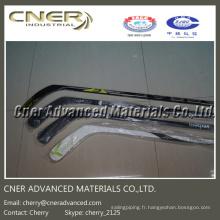Bâton de hockey en fibre de carbone brillant / mat de haute qualité 3k Skype: cherry_2125 / WhatsApp (Mobile): + 86-13001506995