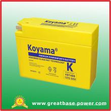 Batterie de moto 2.5ah 12V