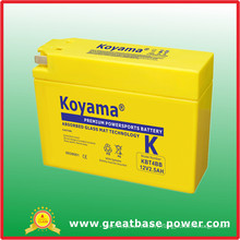 Motorcycle Battery 2.5ah 12V