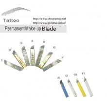 Aguja del tatuaje de la ceja