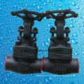 API602 800lb Acero forjado A105 Rosca NPT Válvula de compuerta