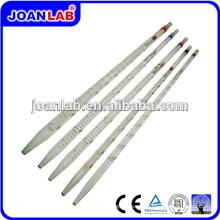 Pipeta de medición de pipeta de vidrio serológico del laboratorio JOAN