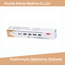 Pomada oftálmica de eritromicina para el cuidado de los ojos