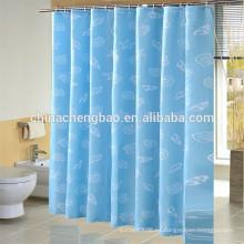 Personalizado impreso 72x 84 pulgadas cortina de ducha hecho en china