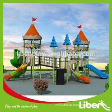 Treffen Sie SGS Standard Kid Spielplatz Sets Mit Bent Slide