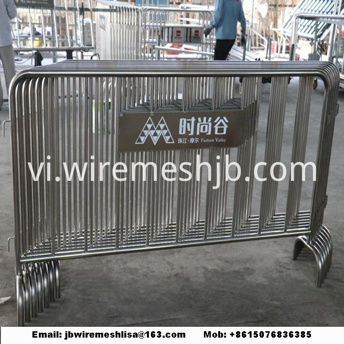 Powder Coated And Galvanized Security Temporary Fence