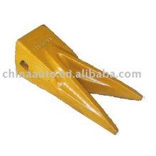 Piezas de alta calidad del diente del cubo del excavador del cargador