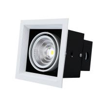 Aluminium-Einzelscheinwerfer COB LED-Kühlergrill Downlight