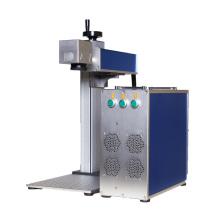 High efficiency fiber laser marking machine engraving machine mini portable for steel aluminum metal 20w 30w 50w 100w