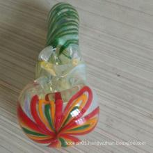 Unique Design Glass Spoon Pipes for Wholesale Buyer (ES-HP-129)