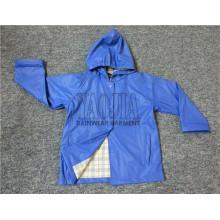Neuester Entwurf PU-Beschichten-Karikatur-Regen-Jacke für Kinder