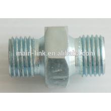 H.p. nipple 250 bar G1/4M-G1/4M, zinc plated steel