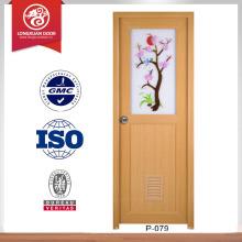 Cadres de porte en bois design design porte intérieur pvc porte