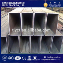 RHS creux en acier section rectangulaire structure en acier tuyau
