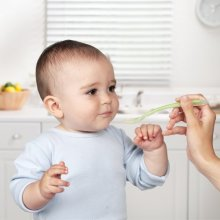 Gift for babies Infant Silicone Spoon for Feeding