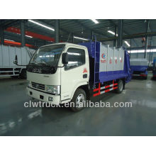 Dongfeng FRK 5m3 compressible garbage truck,4x 2 small garbage truck