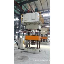 Máquina de prensa hidráulica de cuero / prensa hidráulica manual