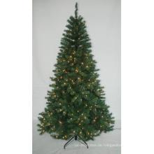 Realist Künstlicher Weihnachtsbaum mit String Licht Multi Farbe LED Dekoration (AT1024)