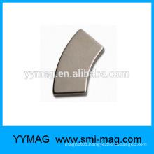 ARC neodymium magnet/curved motor magnet N38H