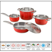 8PCS Color Cook Ware Set