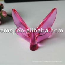 De Bonne Qualité Figurine en cristal de papillon pour des cadeaux de Noël