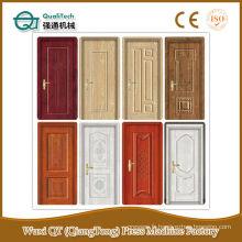 Machine moulée de fabrication de la peau de porte / MDF porte moulée / melamine peau de porte hdf 4.2mm épaisseur